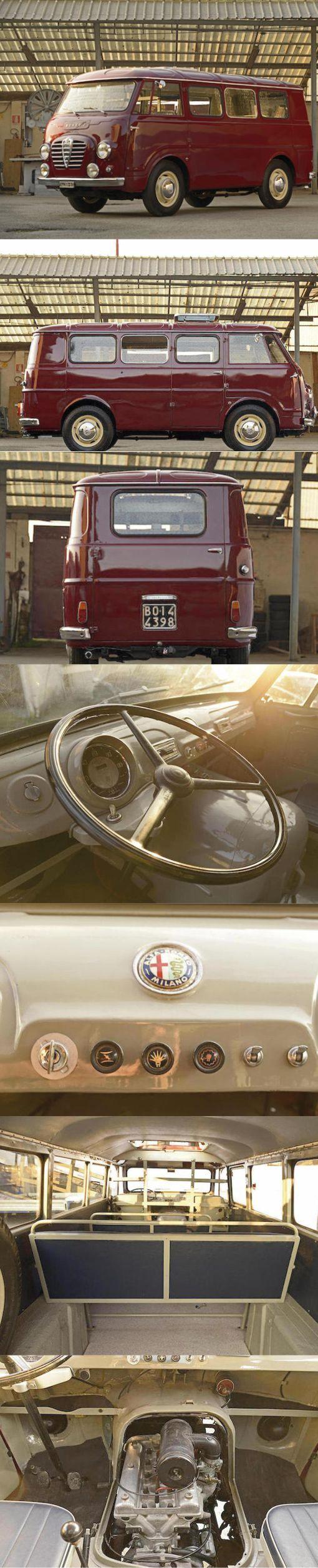 1954 год. Итальянский ответ Фольксвагену - Alfa Romeo Romeo Alfa romeo, Авто, Фотография, Ретроавтомобиль, Интересное, Ретро, Длиннопост