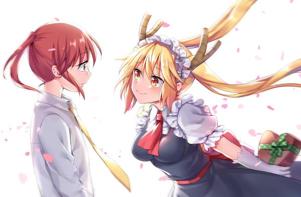 Кобаяши и её Горничная Дракон.