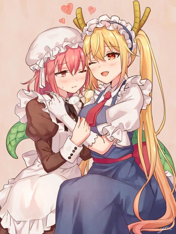 Горничная Кобаяши и её Дракон.