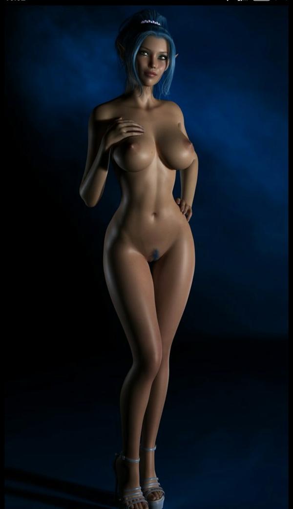 Фото голых девушек в 3 d 53480 фотография