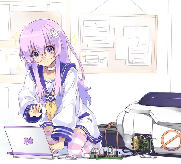 Nepgear Hyperdimension Neptunia, Nepgear, Nomalandnomal, Anime Art, Аниме