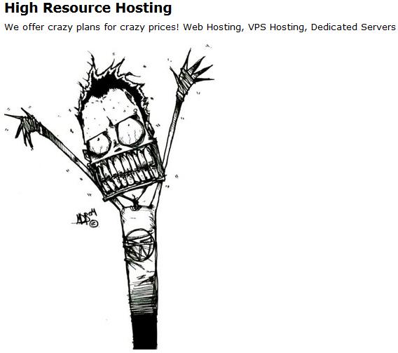 Сайты хостеров, часть 2 Сайт, Хостинг, Юмор, Интернет, Компьютер, Скриншот, Длиннопост