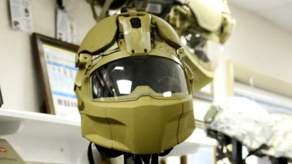 Американскую армию оденут в «мотоциклетные шлемы» США, армия, Снаряжение, видео