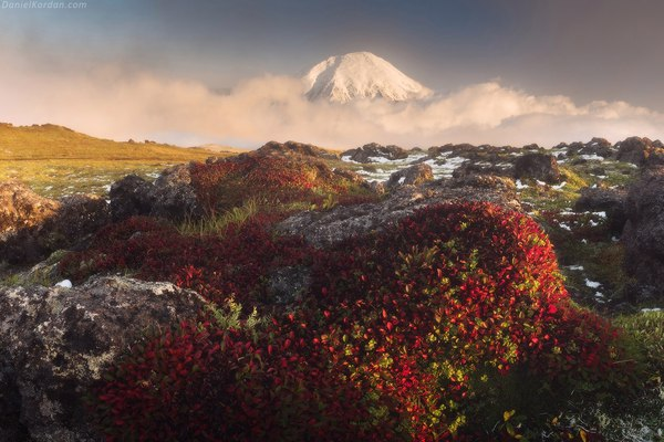 Камчатка Камчатка, осень, вылканы, дымка, фотография, путешествия, надо съездить, Природа, длиннопост