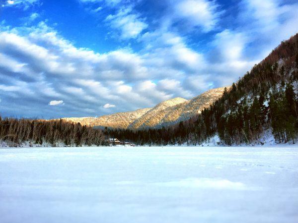 Зима на озере Байкал. Озеро Изумрудное. Байкальск Фотография, Байкал, Байкальск, Озеро, Зима, Природа, Озеро Изумрудное, Длиннопост