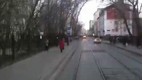 Москва трамвайная
