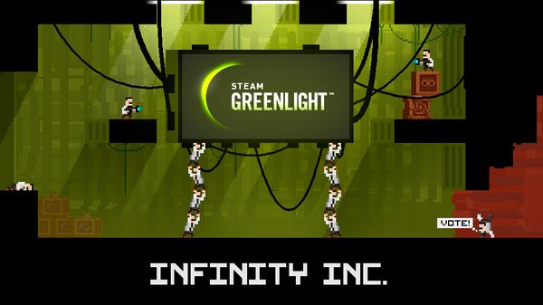 Вышла демо-версия Infinity Inc - платформера-антиутопии про клонирование Платформер, Разработка игр, Пиксель, Steam, Steamgreenlight, Клонирование, Видео, Длиннопост