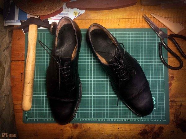 Ещё одна работа с рантом Обувь, Полуботинки, Ручная работа, Кожа, Рант, Туфли