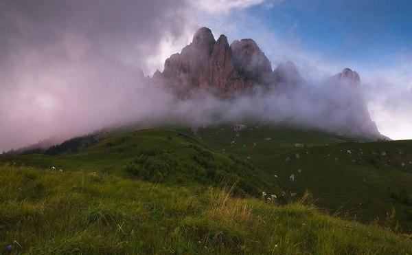 Большой Тхач Западный Кавказ, парк, Адыгея, Майкоп, фотография, Природа, лето, пейзаж, длиннопост