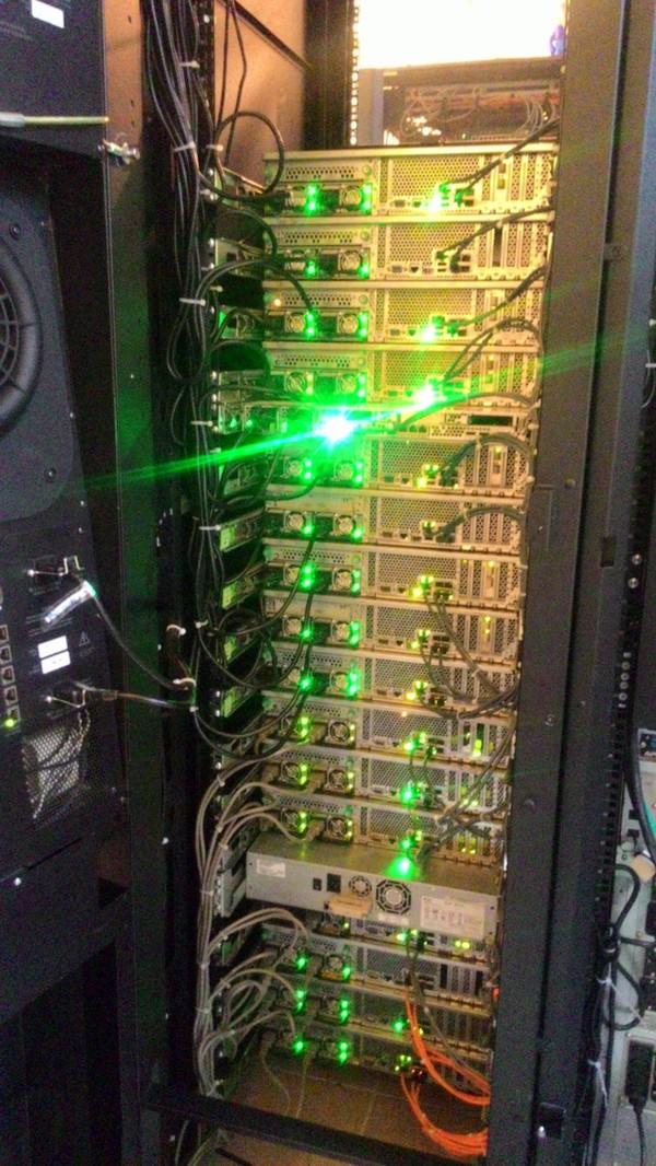 Почти идеальный серверный шкаф =) Моё, Экстетика, Серверная, Шкаф, Серверные, Сервер, Перфекционизм, Длиннопост