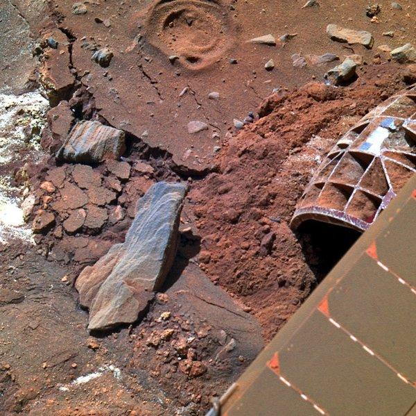 Последняя фотография, полученная от Спирита Марс, Спирит, Космос