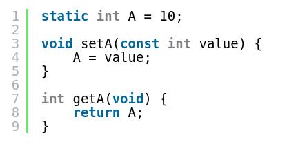 Статические переменные вместо глобальных на Си/Си++ Си++, Си, C++, Программирование