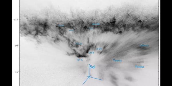 Видео космической пыли Млечного Пути в 3D космос, вселенная, космическая пыль, млечный путь, Видео, длиннопост