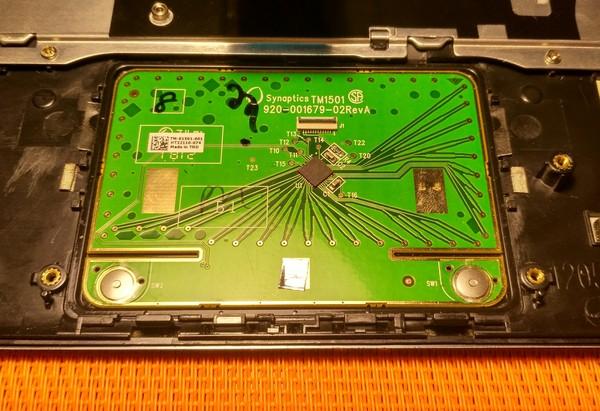Не работают кнопки touchpad 1225b, Тачпад, Нетбук