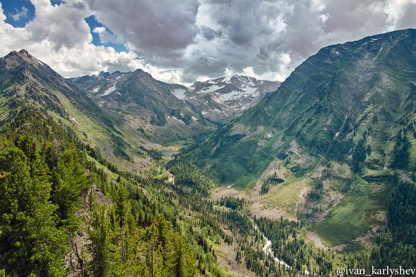 Алтай. Мультинские озёра. Алтай, мультинские озёра, алтайский край, пейзаж, Природа, длиннопост