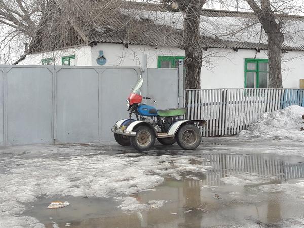 Квадроцикл квадроцикл, шаман, кулибин, деревня