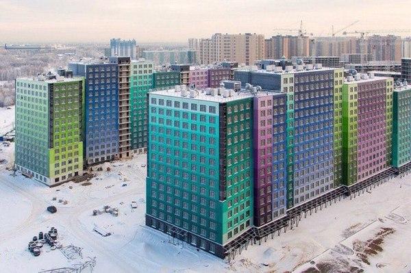 Креативненько Мегаполис, Строительство, микрорайон