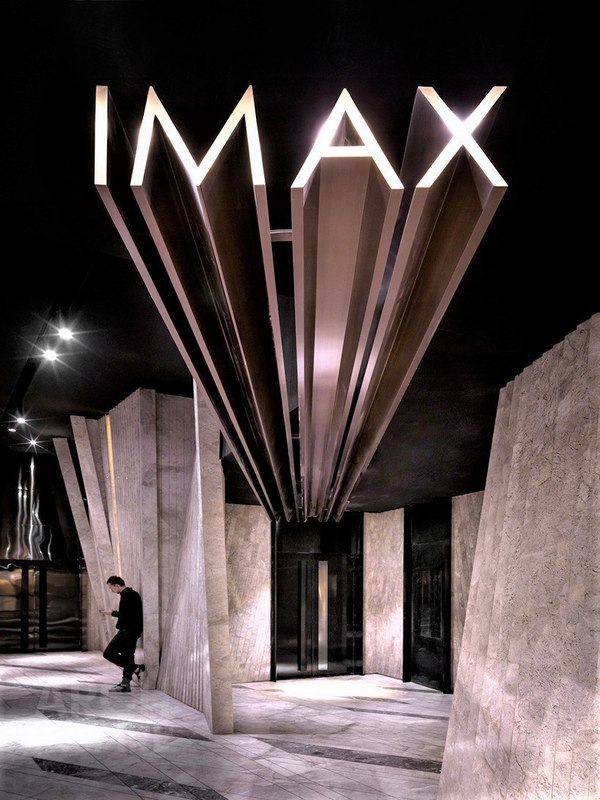 Кинотеатр в Китае архитектура, дизайн интерьера, кинотеатр, IMAX, проект,  Китай, b96a4b25c62