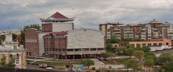Театр Бурятской драмы им.Хоца Намсараева Театр, Улан-Удэ, Бурятия