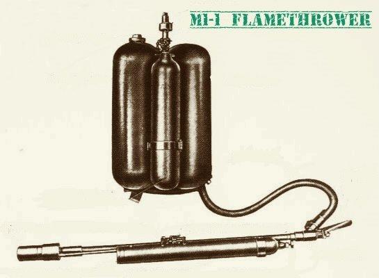Ранцевый огнемет M1 (США) Оружие, Огнемет, Длиннопост, США, M1
