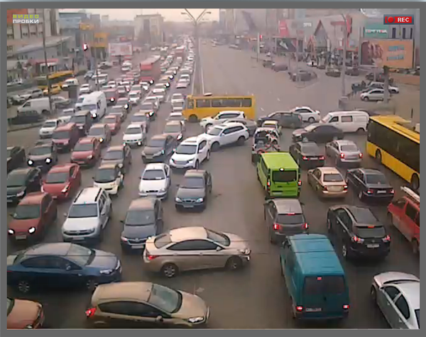 Типичная вечерняя пробка пробка на дороге, авто, Дураки и дороги