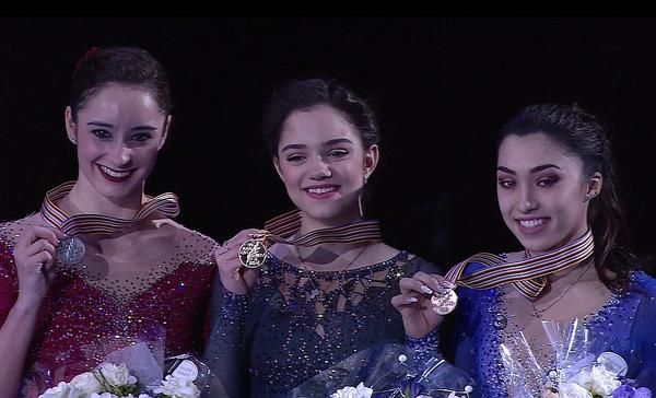 Евгения Медведева выиграла Чемпионат мира по фигурному катанию 2017, став двукратной чемпионкой мира Фигурное катание, Евгения Медведева, Чемпионат мира, Победа