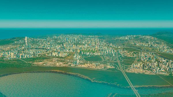 Cities: Skylines-полмиллиона жителей и приплыли.. Cities: Skyline, Предел, Внешние связи, Игры