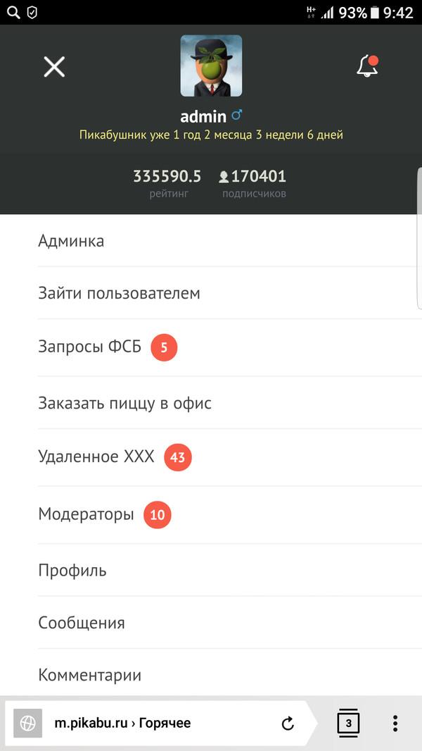 Эх почти побыл админом )))