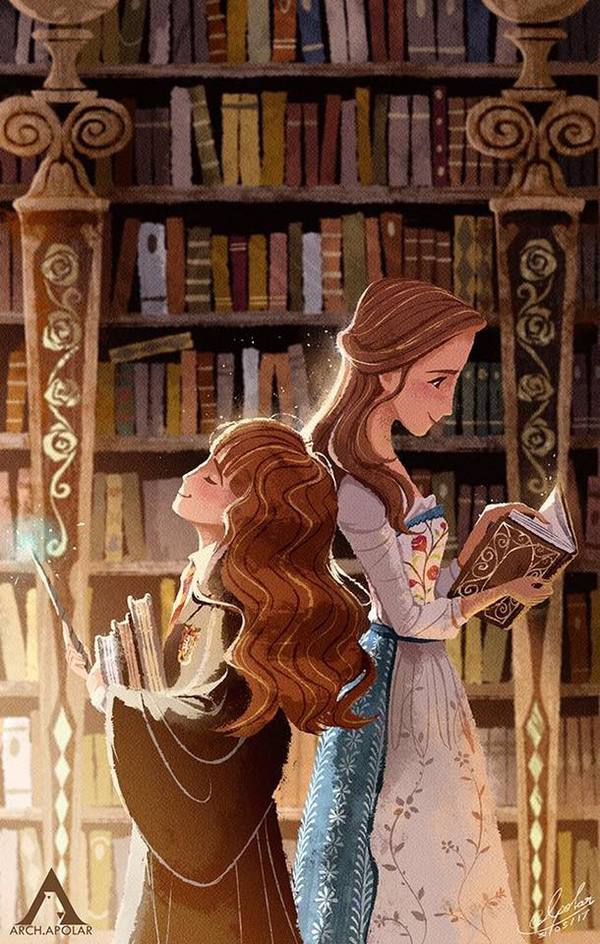 Гермиона и Красавица