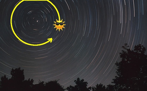 Определение времени по Луне и Солнцу (часть 1) Астрономия, Познавательно, Наука, Солнце, Луна, Звёзды, Видео, Длиннопост