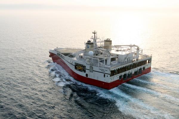 Треугольный корабль для для морской сейсморазведки. Треугольник, Корабль, Длиннопост