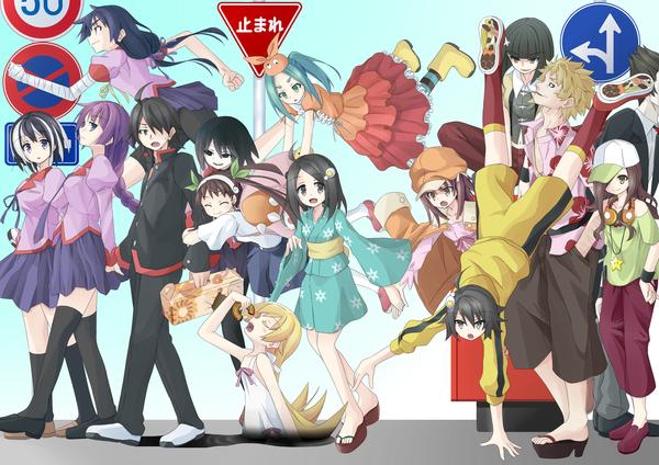 Сообщество о серии лайт-новел Monogatari Series, и их аниме-адаптации. Текст, Anime Art, Monogatari series, Аниме, Создать сообщество