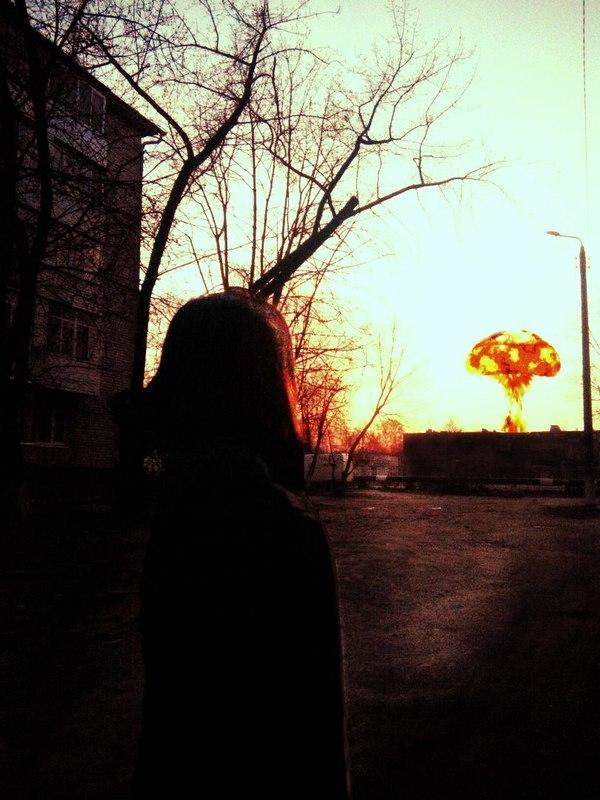 Занялся немного фотошопом Photoshop, Девушки, Фотография, Длиннопост, Ядерный взрыв
