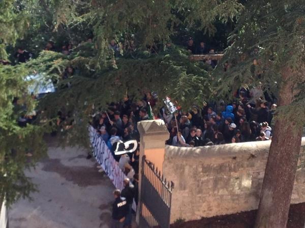 Итальянская забастовка Италия, Забастовка, Общежитие, Студенты, Длиннопост