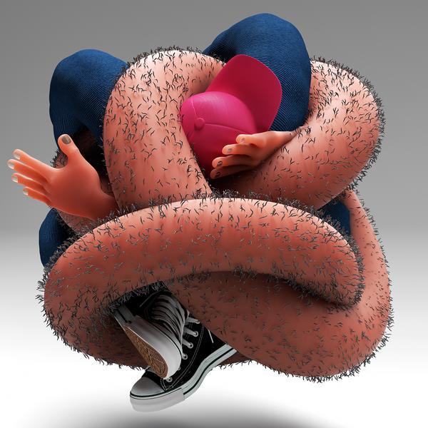 Надеюсь, это ноги, а не...кхм, кхм Behance, Искусство