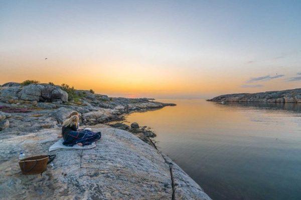 Западное побережье Швеции Фотография, Швеция, Красота, Побережье, Море, Длиннопост