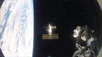 Процедура стыковки корабля Союз с МКС