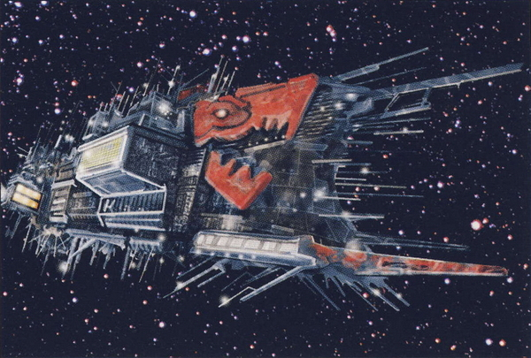 Имперских звездолетов пост Horus Heresy, Warhammer 40k, wh art, звездолеты, космос, Old Warhammer, длиннопост