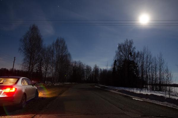 Двойная вспышка Иридиума, еще вспышка и Луна космос, астрофото, Вспышка иридиума, луна, длиннопост