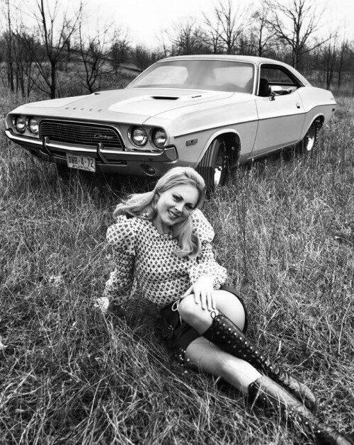 Dodge Challenger, 1972 год.