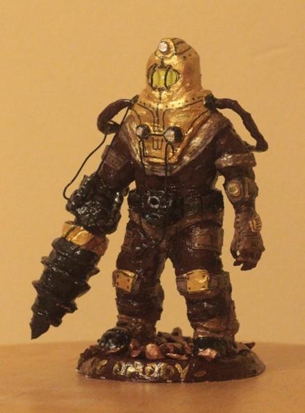 Биг Дэдди Bioshock, Большой папочка, Объект Дельта, Handmade, Длиннопост