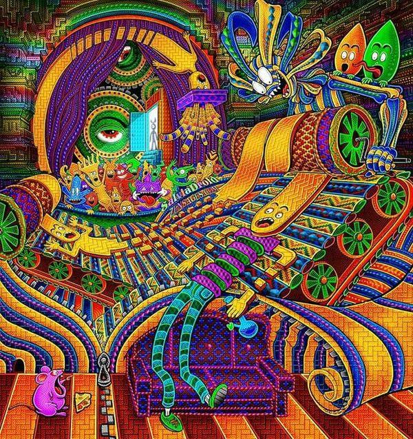 Цилиндрическая наркомания, или самый страшный сон кошмар, сон, текст, цилиндры мать их, крипота, наркомания