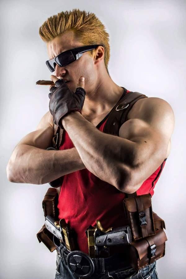 Duke Nukem cosplay