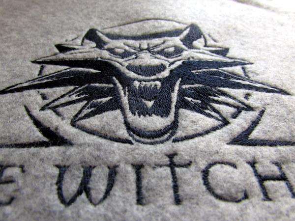 Лого Ведьмак Ведьмак, The Withcher, Нашивка, Фетр, Рукоделие, Вышивка Машинная, Компьютерная вышивка, Длиннопост