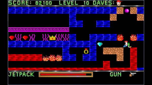 Dangerous Dave Игры, Old games, Ретро-Игры, Dangerous Dave, Длиннопост