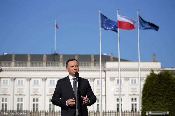 Не оскорбляй Дуду попивая сок у себя в деревне Польша, Политика, президент, дуда, преследование, угнетение