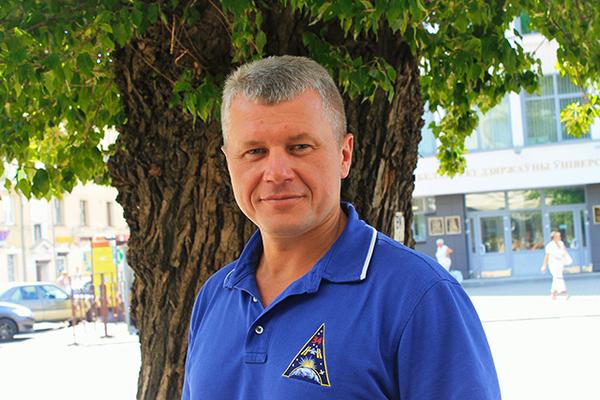 Белорус Олег Новицкий ведет прямую трансляцию с МКС (ссылка на трансляцию в комментариях)