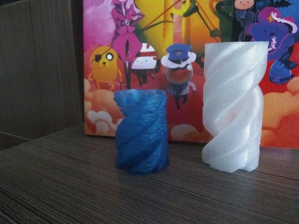 Спор о 3D принтерах #2 Слонизвращенец, 3d, Печать, Pla, M3d, Пластиковая хрень, Гифка, Длиннопост