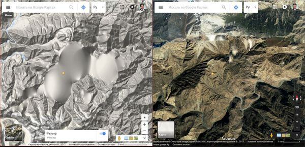 Есть эксперты в геодезии и 3D съёмки ландшафта? google, карты, рельеф, баг, глитчи, горы, Кыргызстан