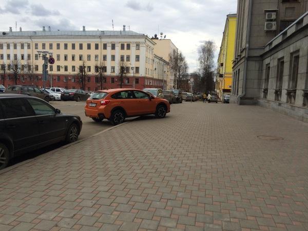 В тему про мастеров парковки. Мастер парковки, Киров
